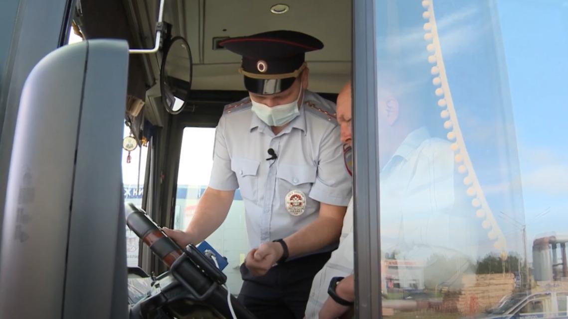 Автобусы в Череповце ездят с техническими нарушениями