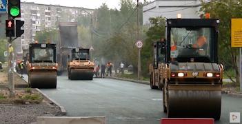 Недавно подрядчик закончил асфальтировать улицу Суворова