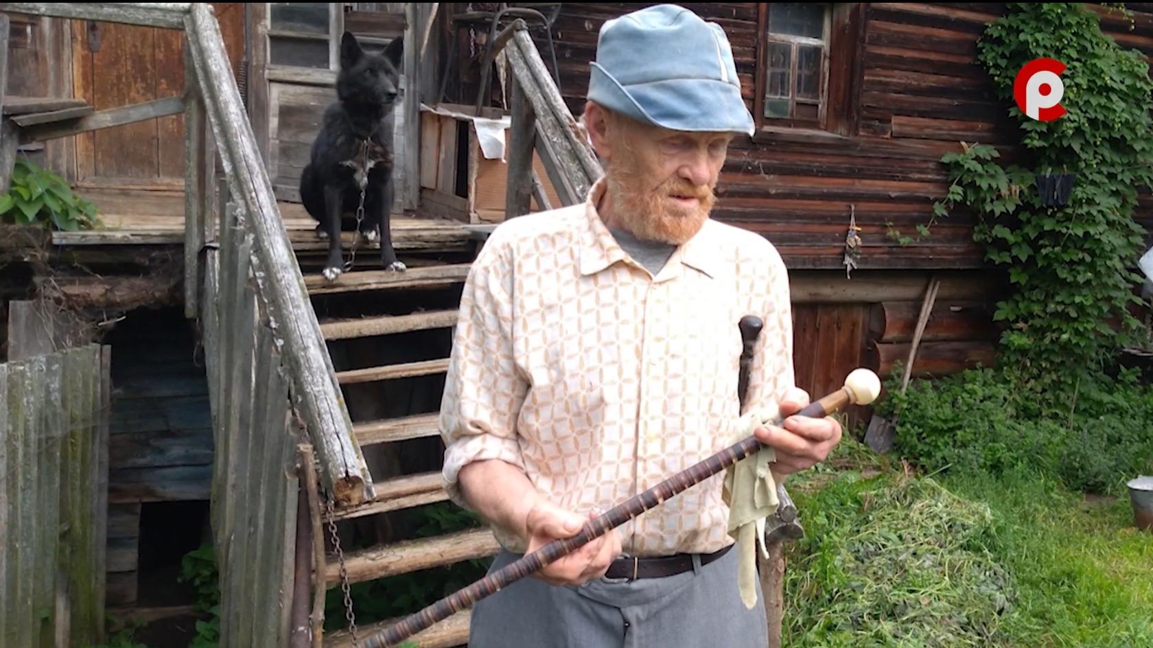 Раньше у мужчин в селах были трости