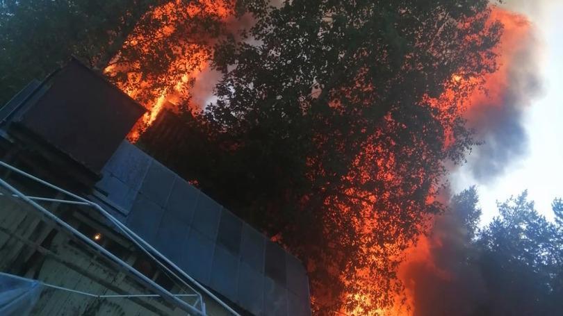 Серьезный пожар произошел в Череповецком районе