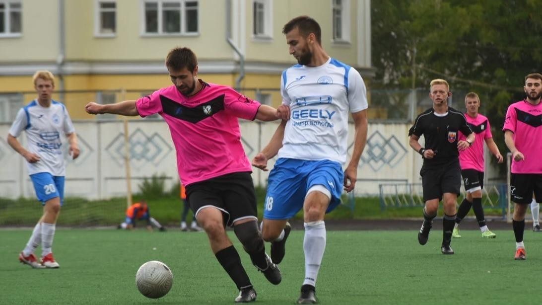 Футбольные клубы Вологодчины одержали очередные победы в чемпионате третьего дивизиона