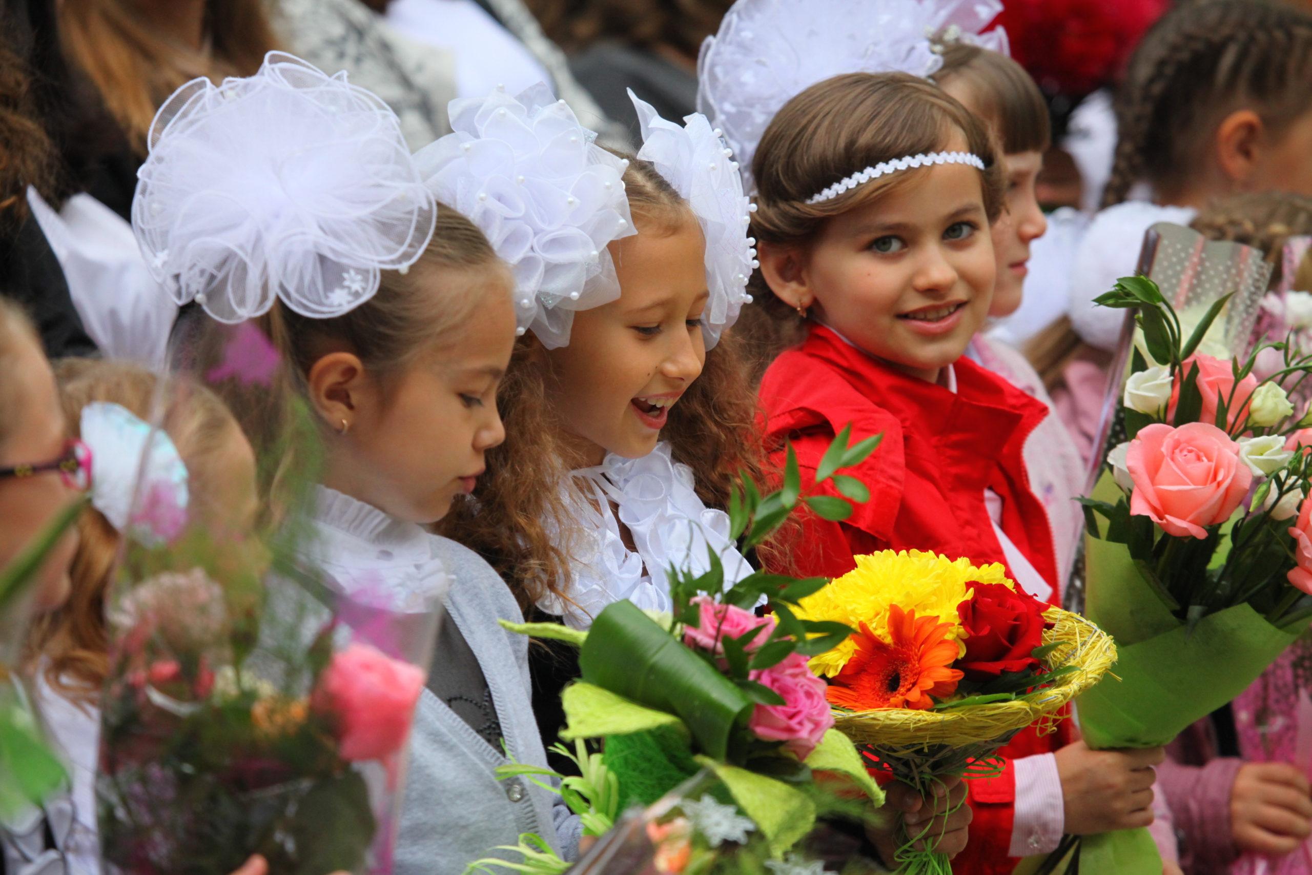 В этом году в школы Череповца пойдут больше 5,5 тысяч первоклассников