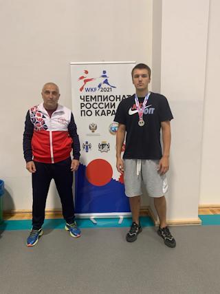 Макар Головин - серебряный призер чемпионата России по карате