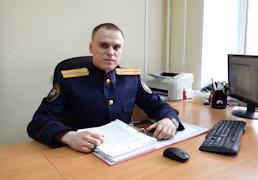 """Виталий Балдин: """"Обнаружить подозреваемого помогли изучение показаний потерпевшей и экспертизы""""."""