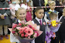 В школе №5 новый учебный год начался для 1435 школьников