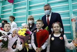Слова напутствия ученикам педагоги и родители, представители власти сказали на торжественной линейке