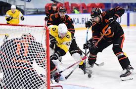 Трофей турнира имени Николая Пучкова мог бы уехать в Череповец.