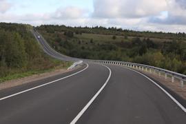 В следующем году продолжат ремонтировать региональную трассу Сокол-Харовск -Вожега