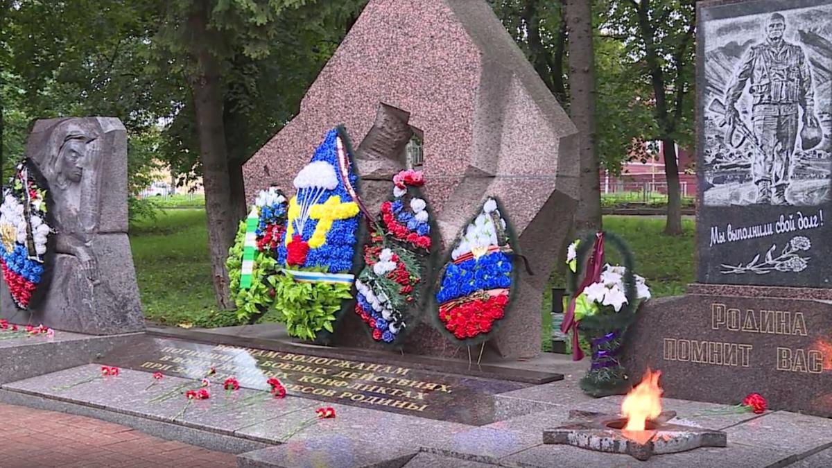 Память всех людей, когда-либо погибших от рук террористов, почтили сегодня на Вологодчине