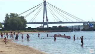 За сезон пляжи Череповца посетили более 164 тысяч человек