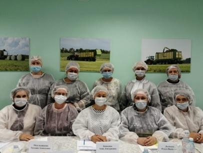 Заседание дегустационной комиссии по исследованию органолептических показателей сливочного масла