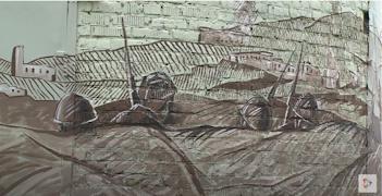 Подлинник гравюры Сергея Антонова хранится в фондах Череповецкого музейного объединения