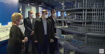 Константину Цыганову устроили экскурсию по Музею металлургической промышленности