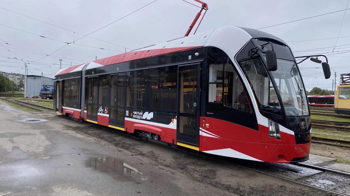 Новые трамваи в Череповце начнут работать на маршрутах с 13 сентября