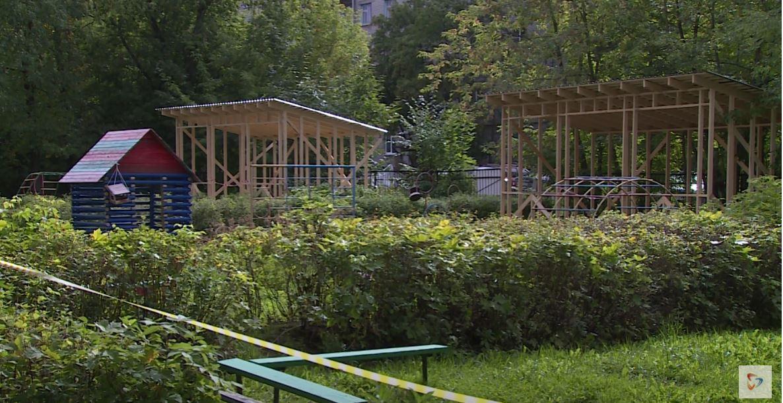 На сегодняшний день полностью обновлены прогулочные веранды в 4 детских садах Череповца