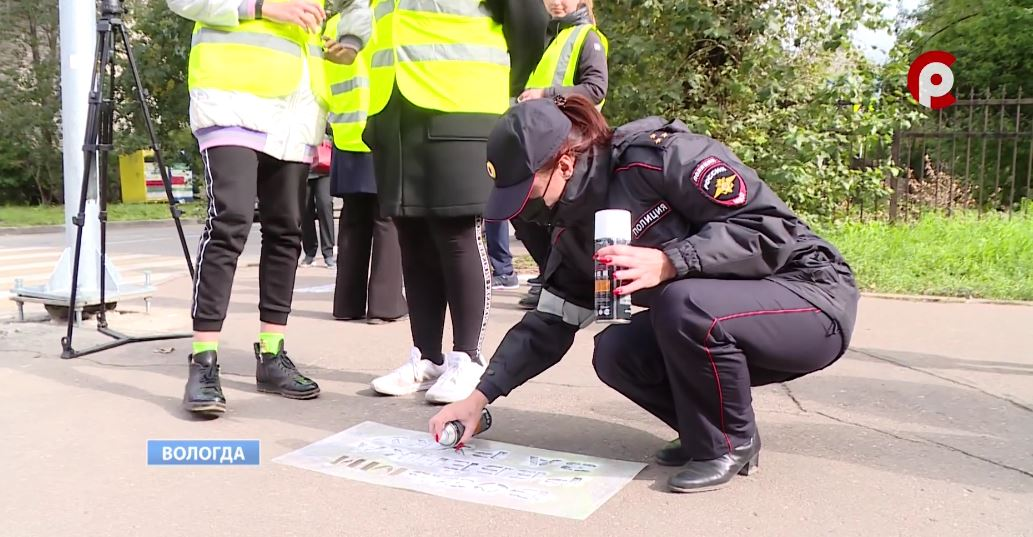 Предупреждающие надписи нанесли на улице Кирова, Герцена и Мальцева