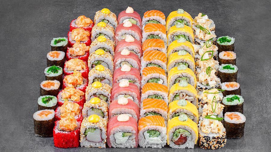 Суши — полезный японский деликатес