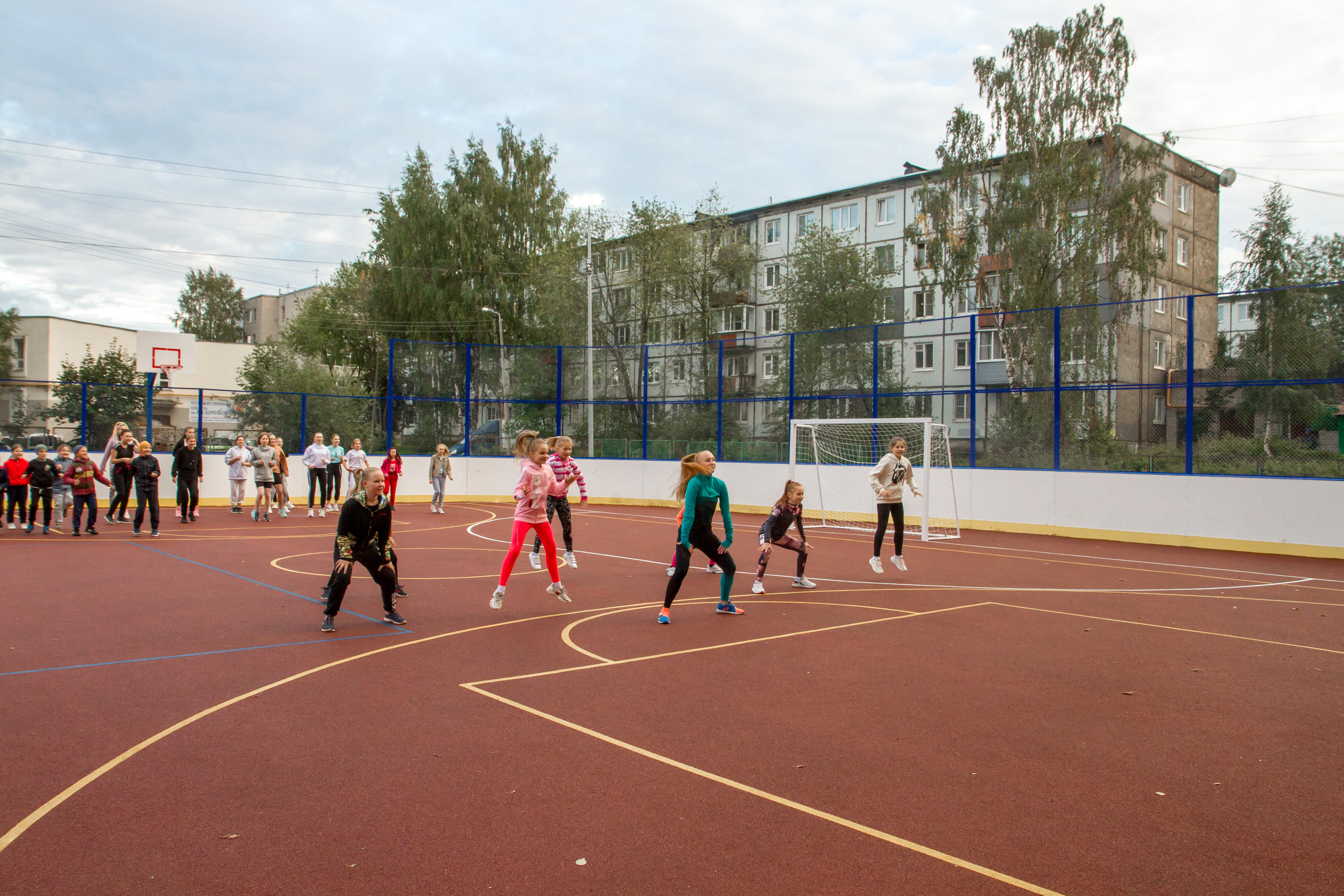 Первый ФОКОТ открыли у школы №36 в Вологде