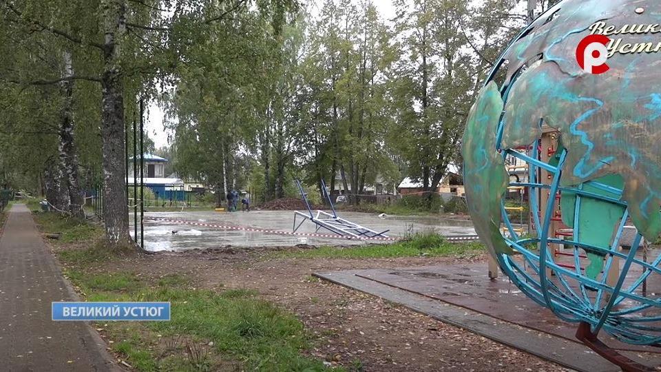 Сквер на улице Шумилова в Великом Устюге планируют благоустроить до конца месяца