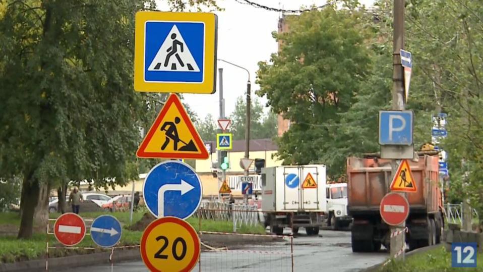 Движение транспорта временно ограничат на улице Гоголя в Череповце