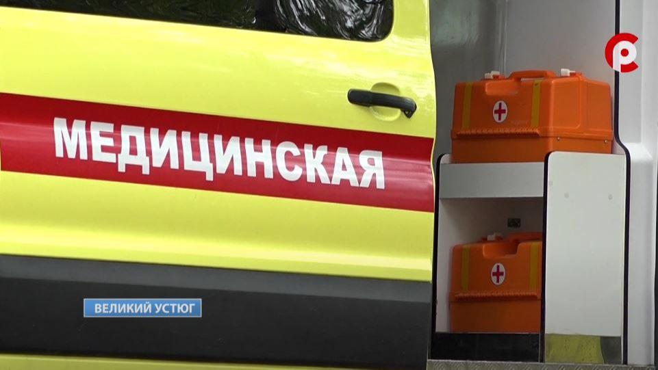 12-летнего мотоциклиста, пострадавшего в ДТП под Великим Устюгом, вертолетом санавиации перевезли для дальнейшего лечения в Вологду