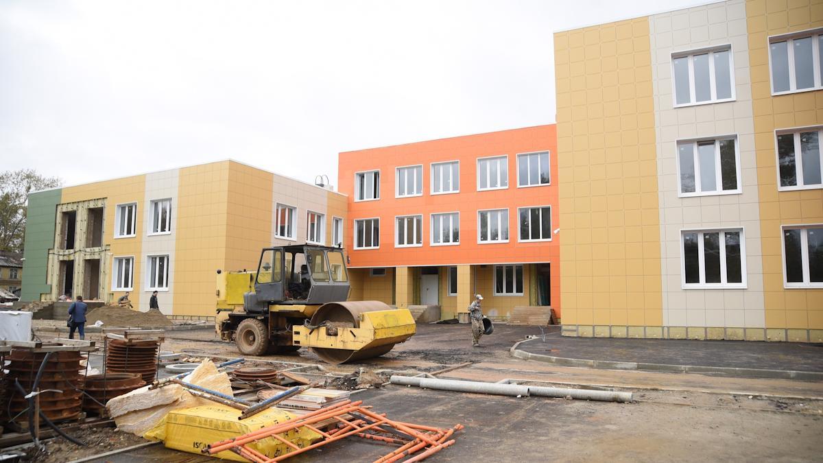 На 80% готов детский сад на улице Народной в Вологде