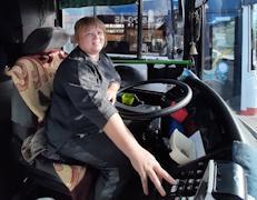 Наталию Королеву можно встретить за рулем автобусов №7 и 27