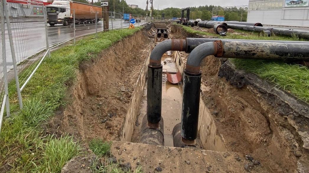 Тепло и горячую воду отключили в Зашекснинском районе Череповца