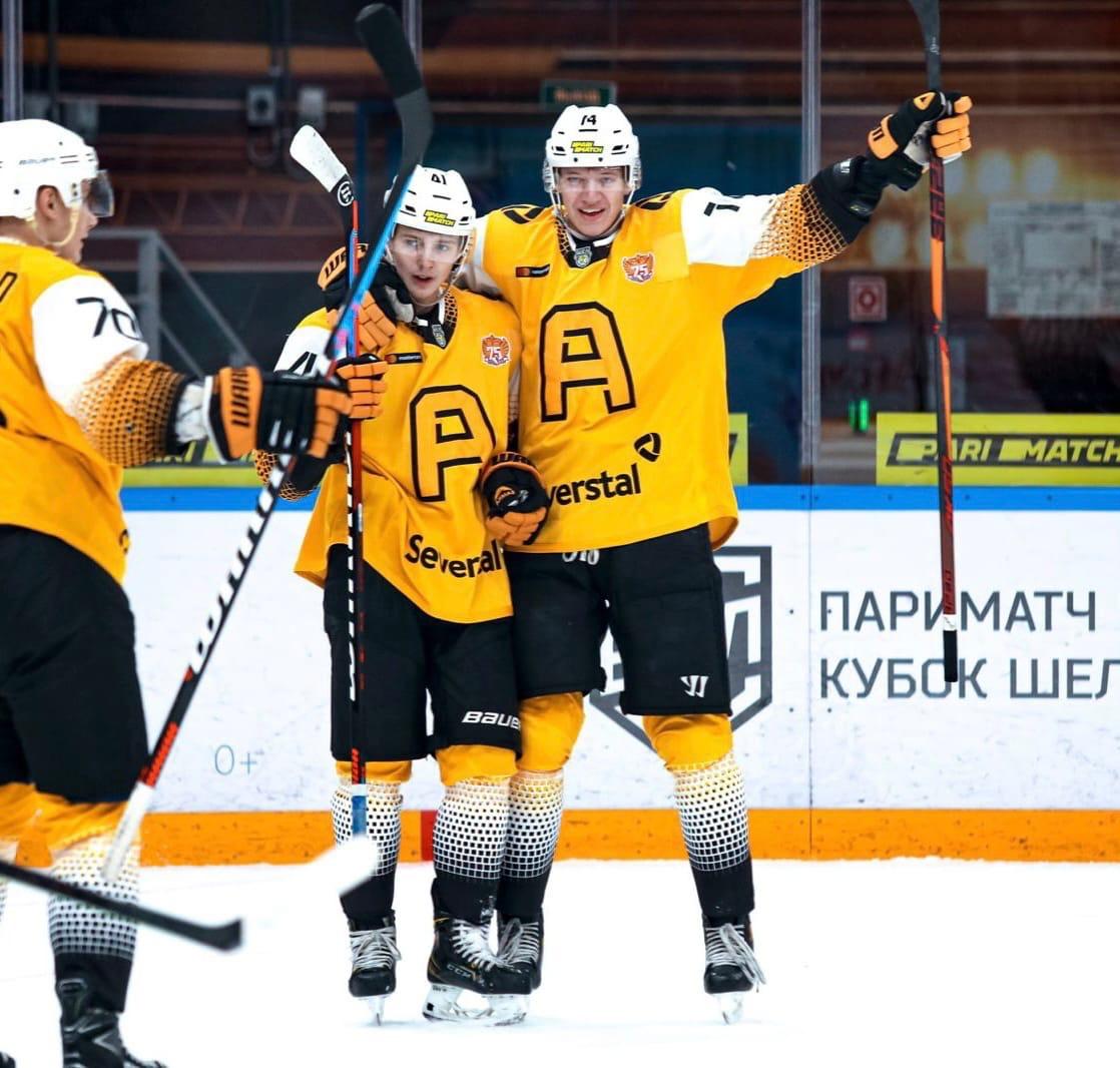 """""""Алмаз"""" обыграл сильнейшую команду МХЛ прошлого сезона."""