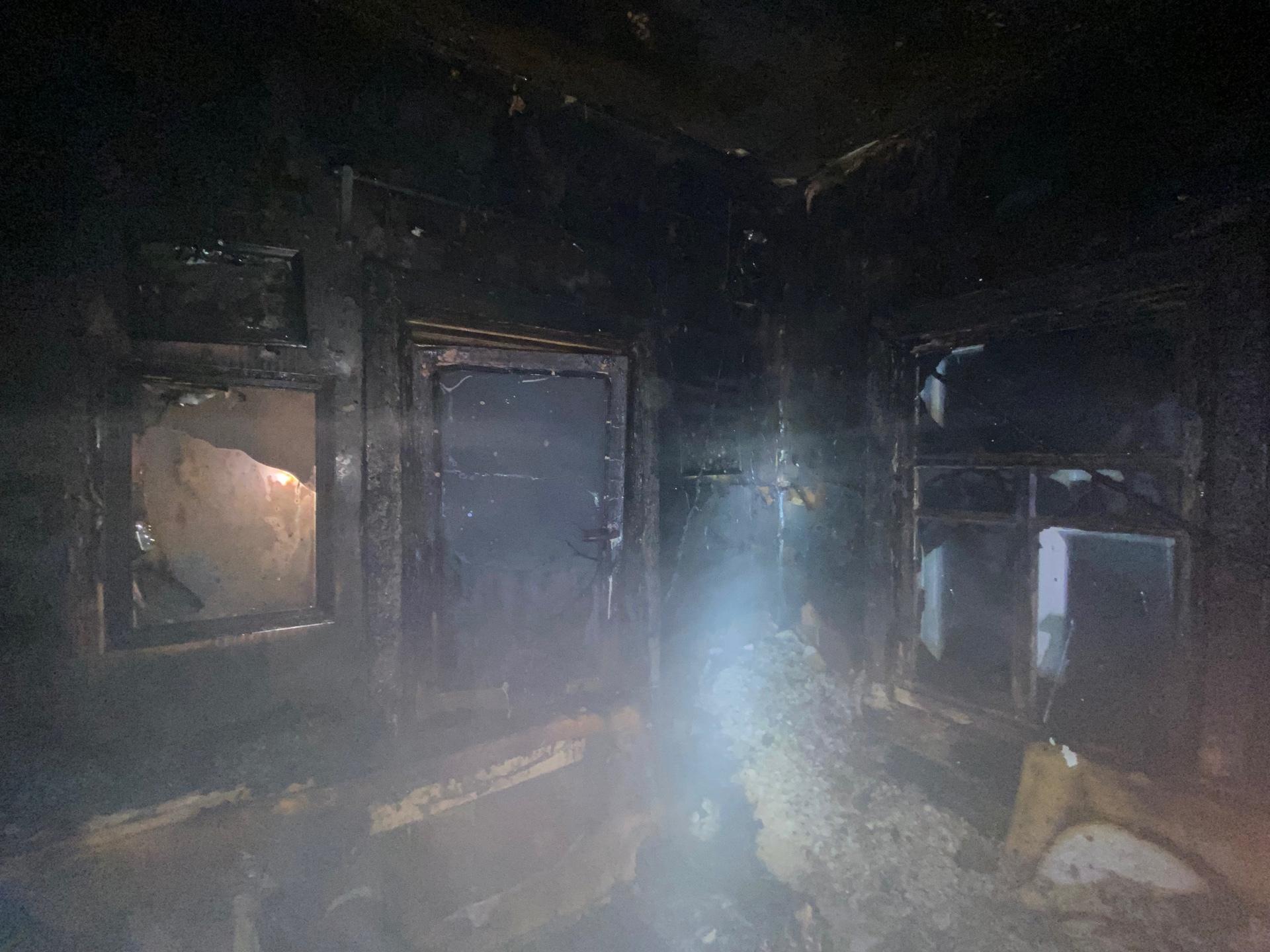 5-летнюю девочку спасли из горящего дома в Соколе