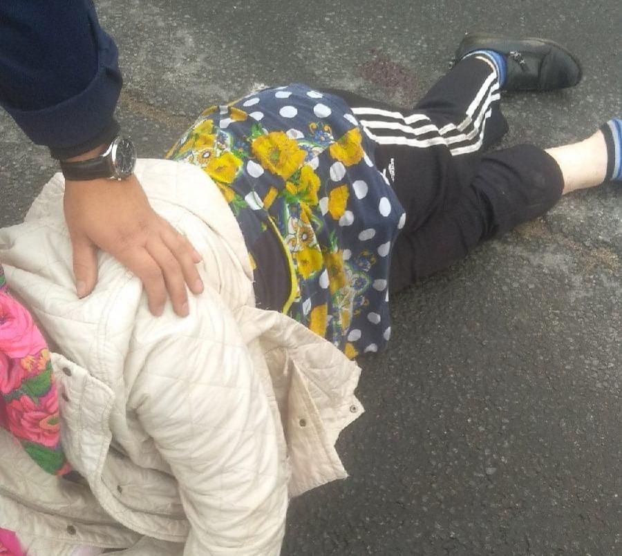 Мотоциклист сбил женщину в Череповце
