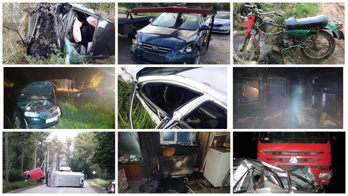 Самые громкие происшествия в Вологодской области за неделю