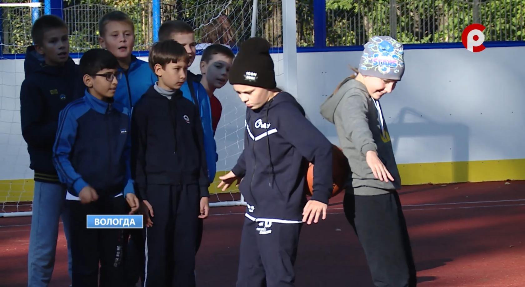 Школьники любят спорт, но долго не могли полноценно заниматься им на улице