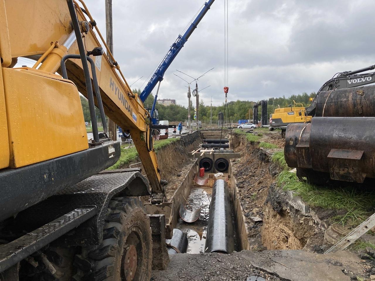 Подрядчик «Газпром теплоэнерго Вологда» в установленные сроки, трое суток, уложиться не смог