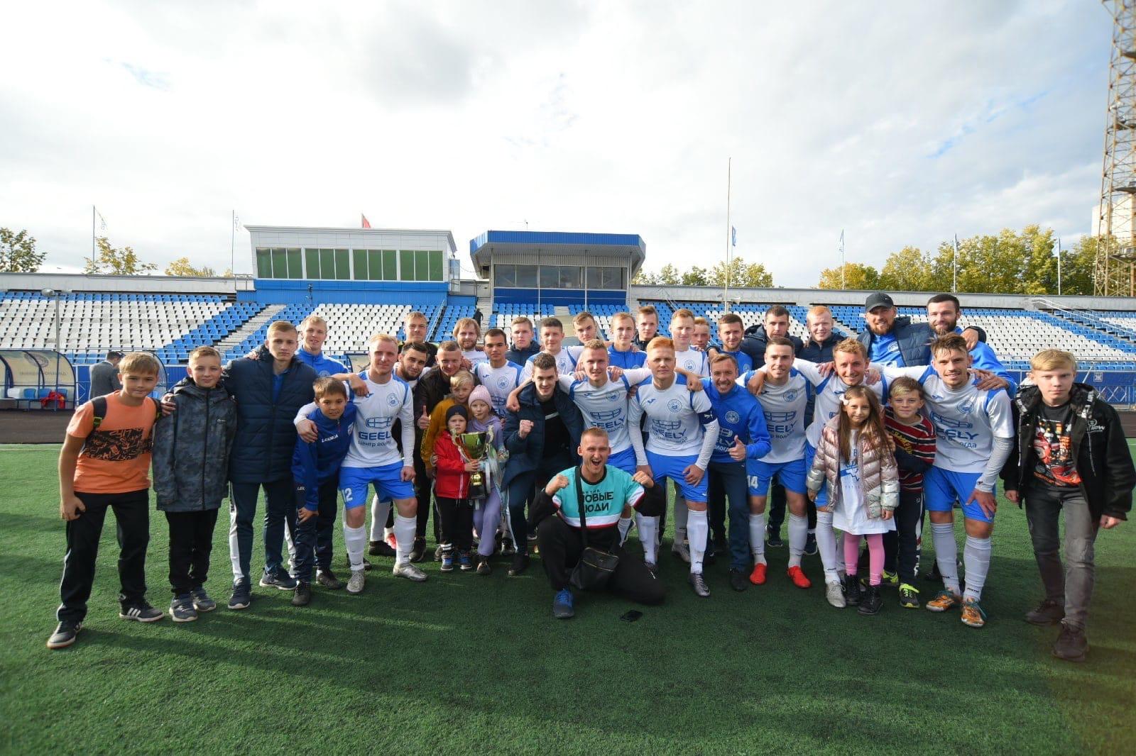 Команда Рудольфа Чесалова выиграла Кубок Вологодской области