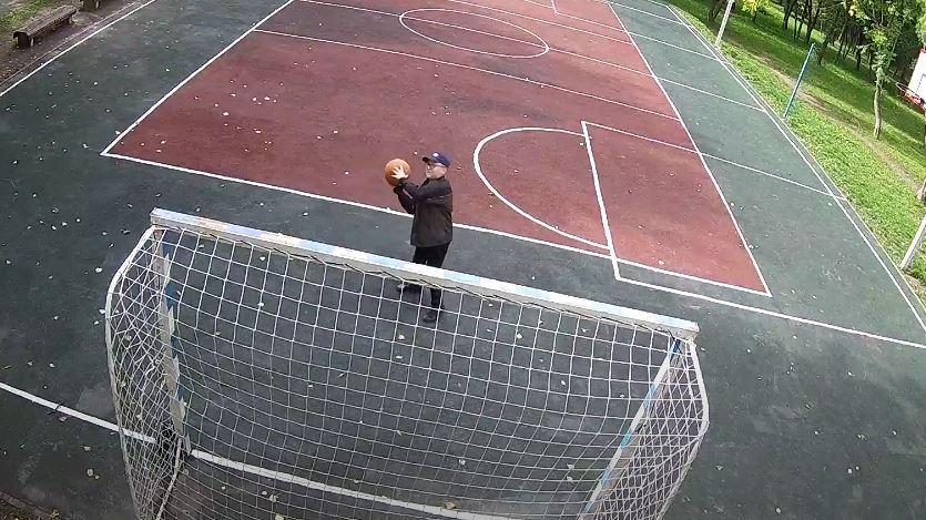 Полиция уже задержала метателя мяча