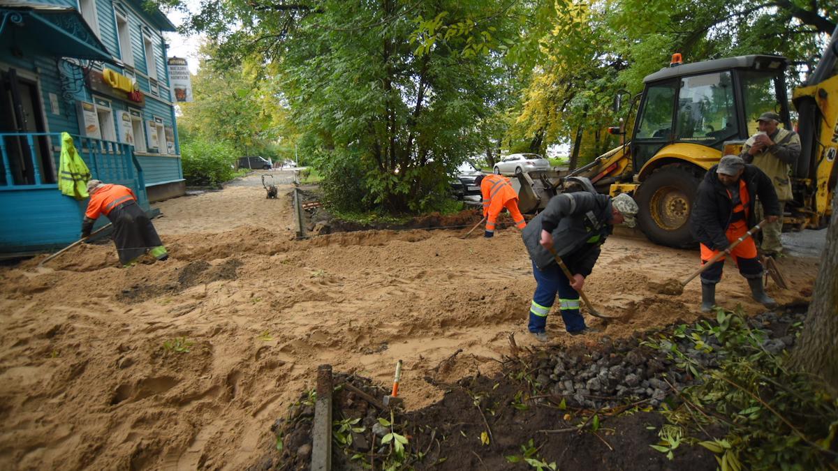 В Вологде определился подрядчик на ремонт дополнительных участков тротуаров