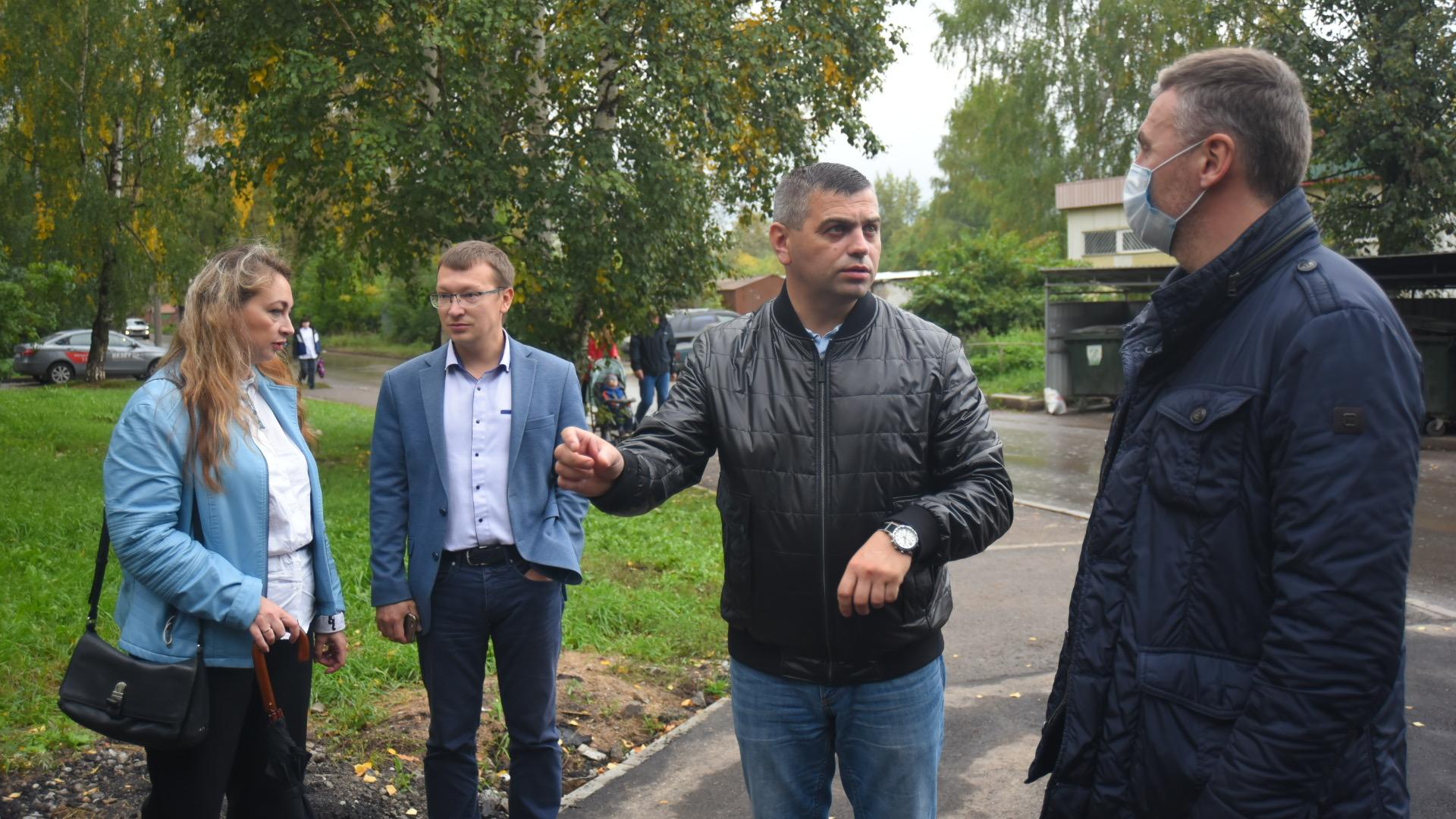 Работы на всех этапах контролируют городские власти совместно с жителями и депутатами