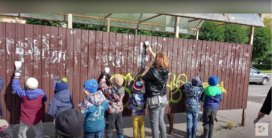 Детский сад присоединился к акции по своей инициативе