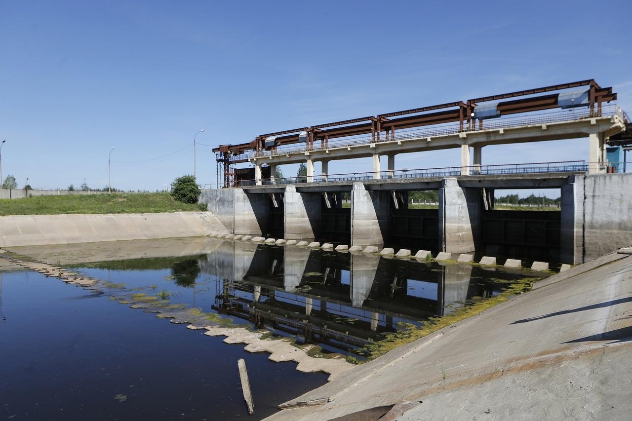 Тракт обеспечивает областную столицу водой, когда уровень реки Вологды резко падает