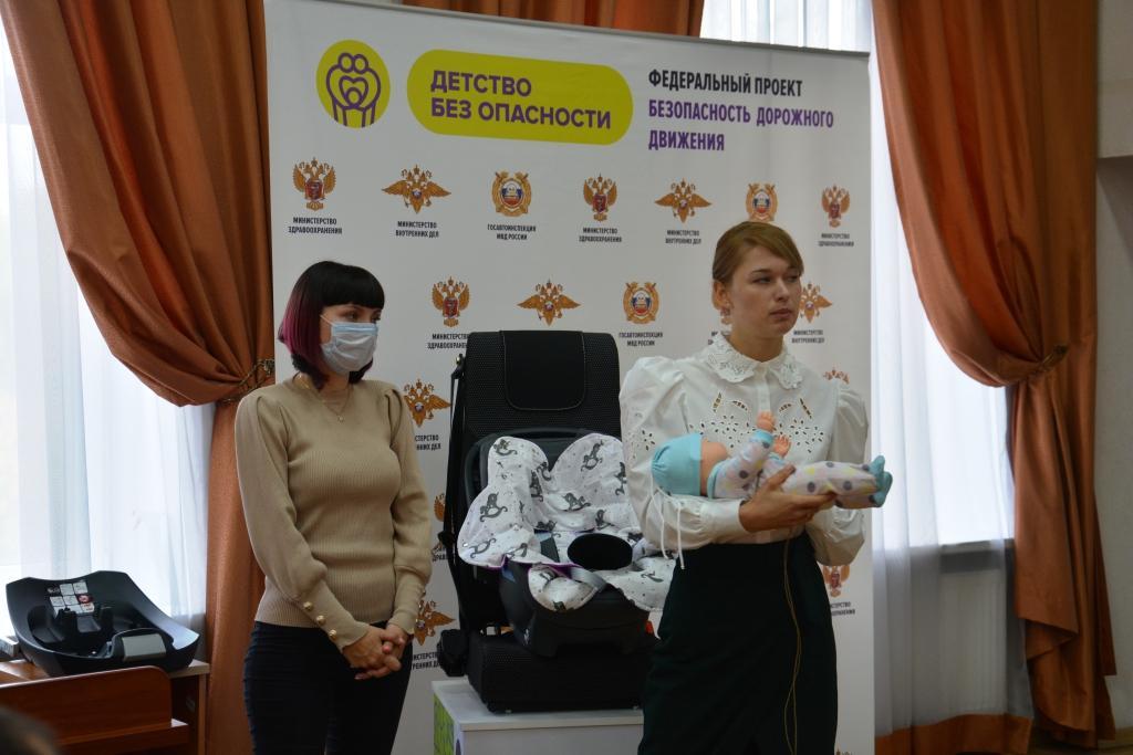 Руководитель проекта Кристина Ляпистова наглядно о правилах перевозки детей в транспорте.
