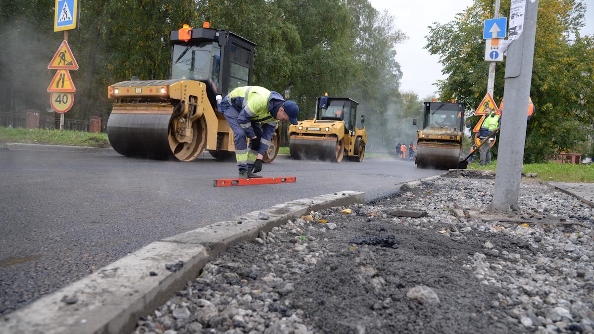 Ремонты дорог завершаются