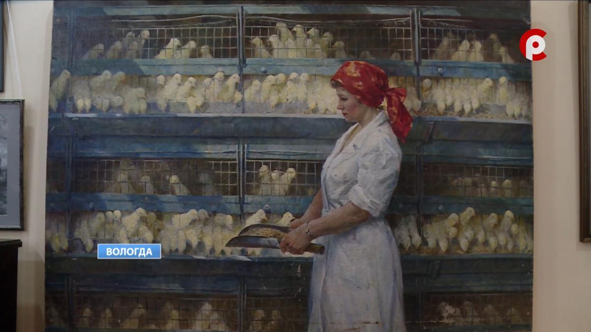 Выставку художника-реставратора Ольги Соколовой открыли в Вологде