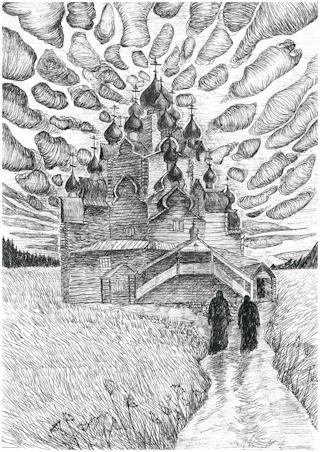 """Полина Доршева """"Молитва"""". Фото: Вытегорский краеведческий музей"""