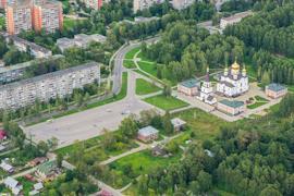 Благоустройством Макаринской рощи в Череповце занимаются уже не первый год