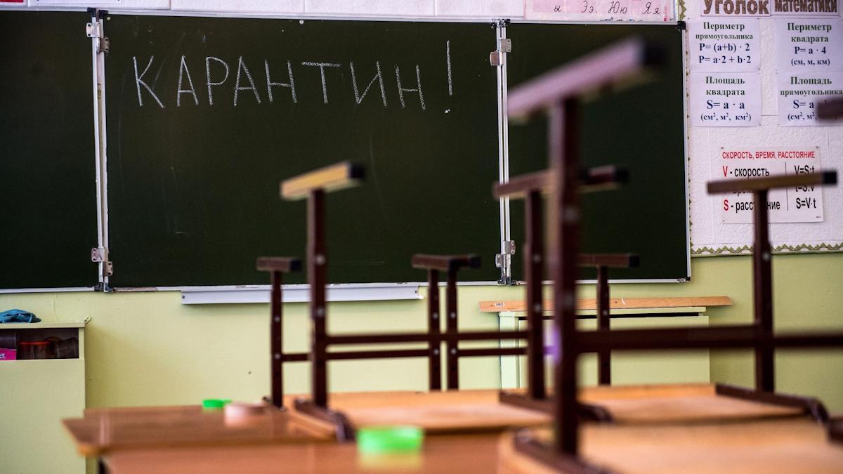 253 школьных класса в Вологодской области закрыли на карантин из-за коронавируса