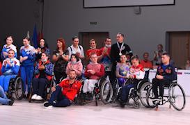 Сергей Бенда и Илья Гладкий на Чемпионате России 2021 по танцам на колясках