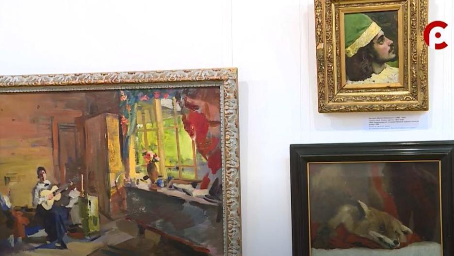 Уникальная выставка картин Абрамцевского кружка открылась в Вологде