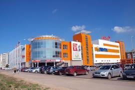 Торговые центры отдали кредитному учреждению в счет оплаты долга