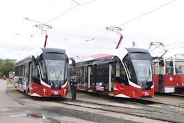 """В рамках участия в проекте """"Чистый воздух"""" город рассчитывает получить еще 30 новых трамваев."""